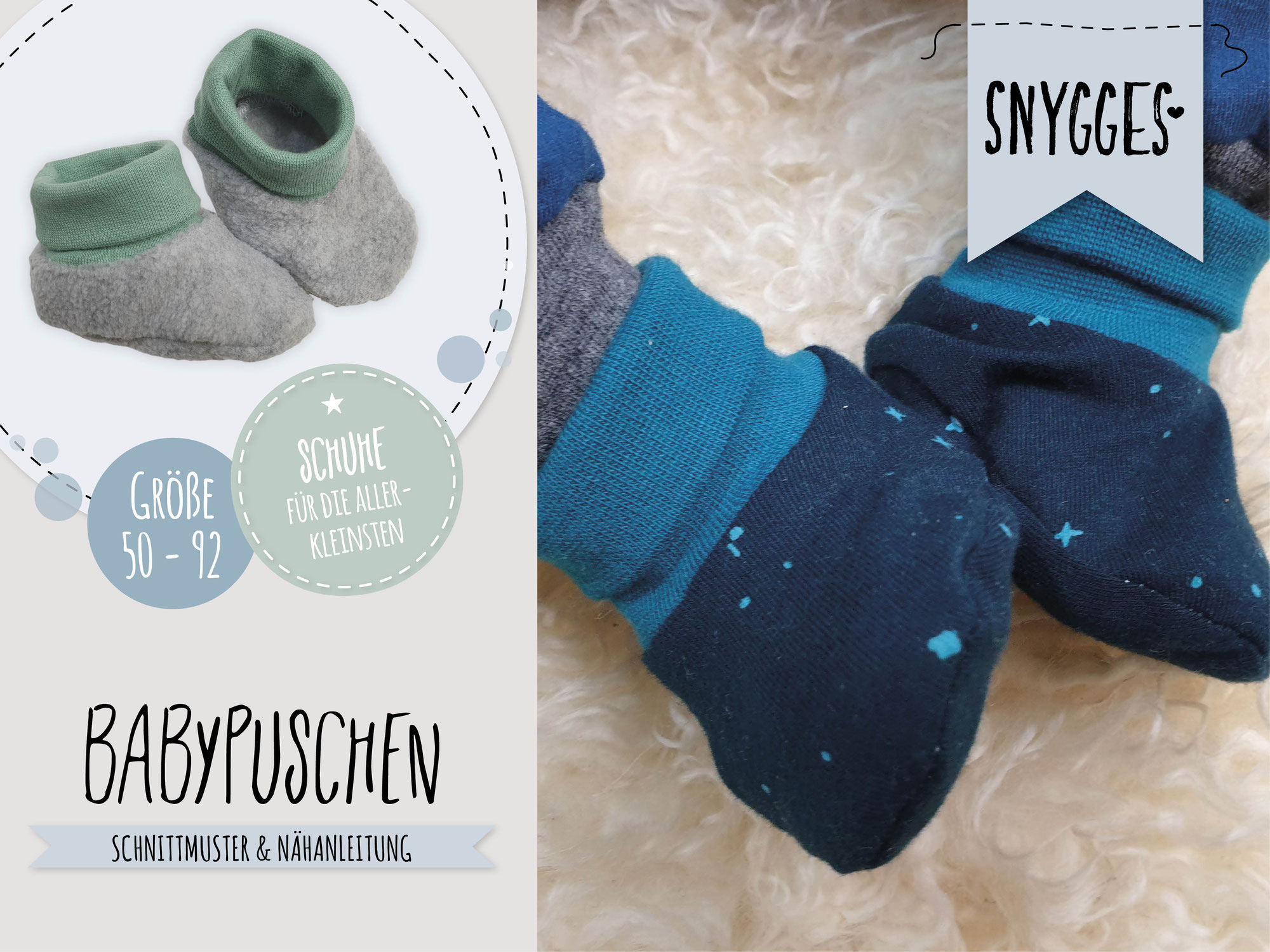 Babypuschen - Schuhe für die Kleinsten
