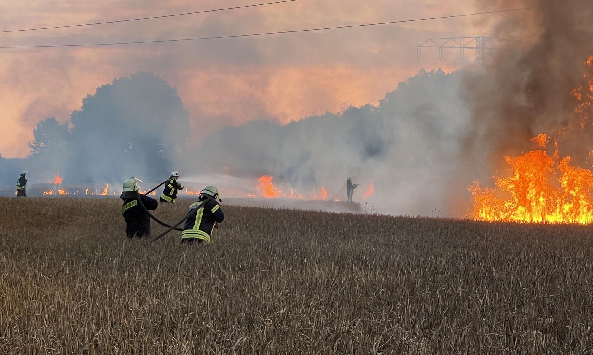 Starkstrom: Beinahe wäre ein Mast abgebrannt