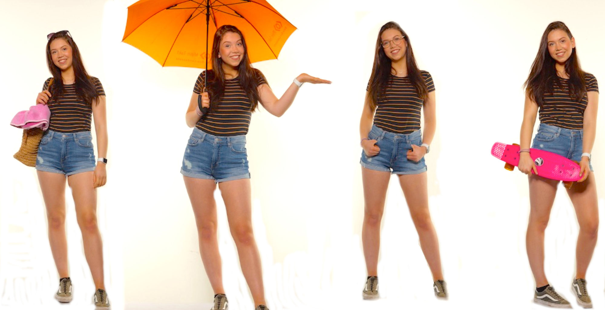 Lina, ein Model per Zufall