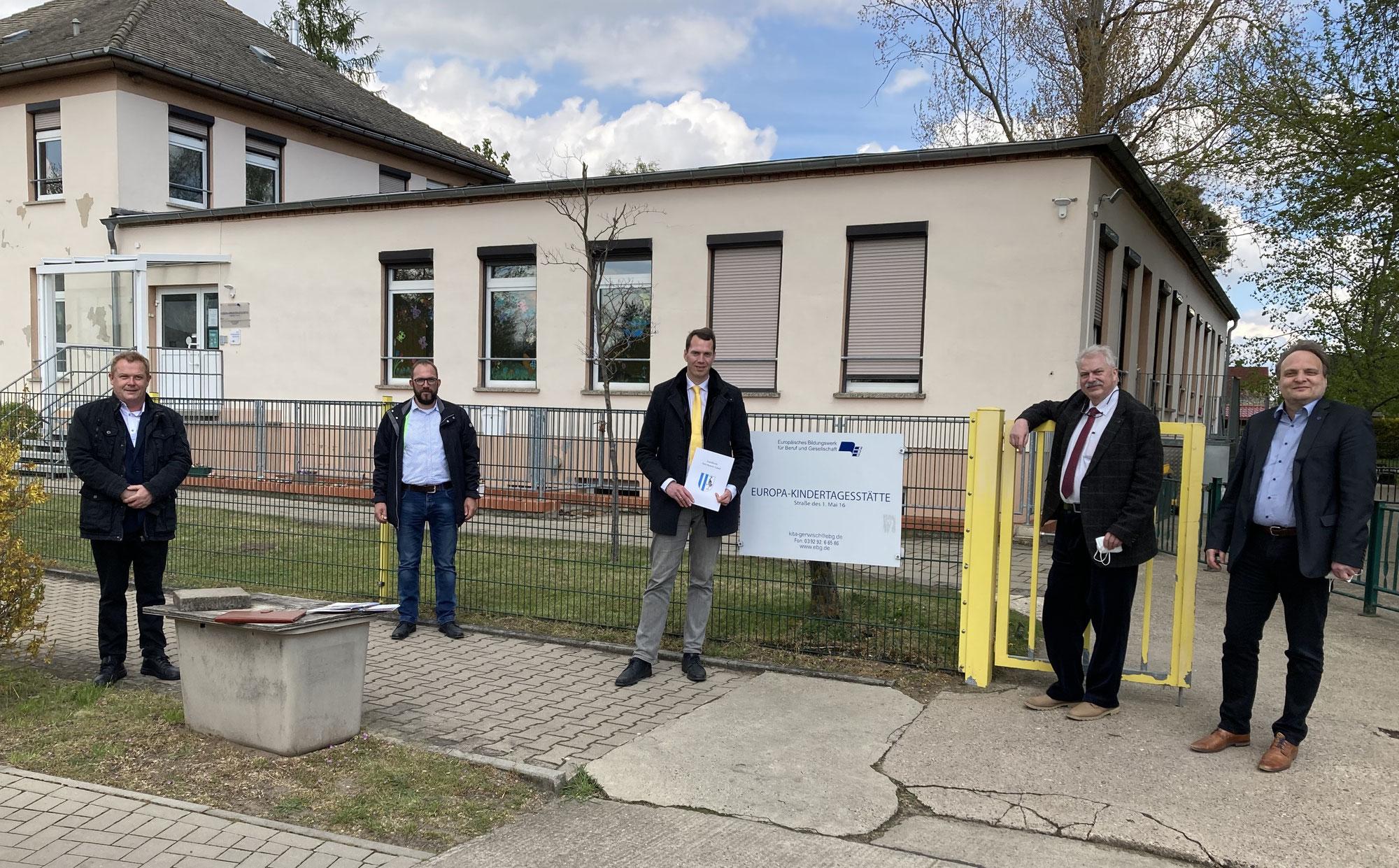 Gerwischer Kita wird für 1,3 Millionen Euro erweitert