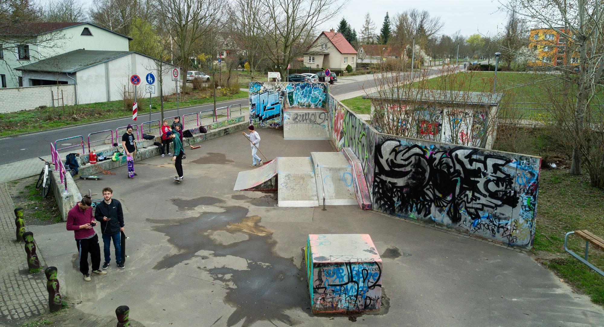 Projekt Skaterbahn kommt in Bewegung