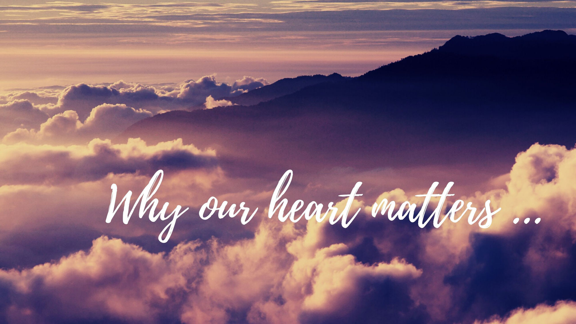 Why our HEART matters more than you THINK ...