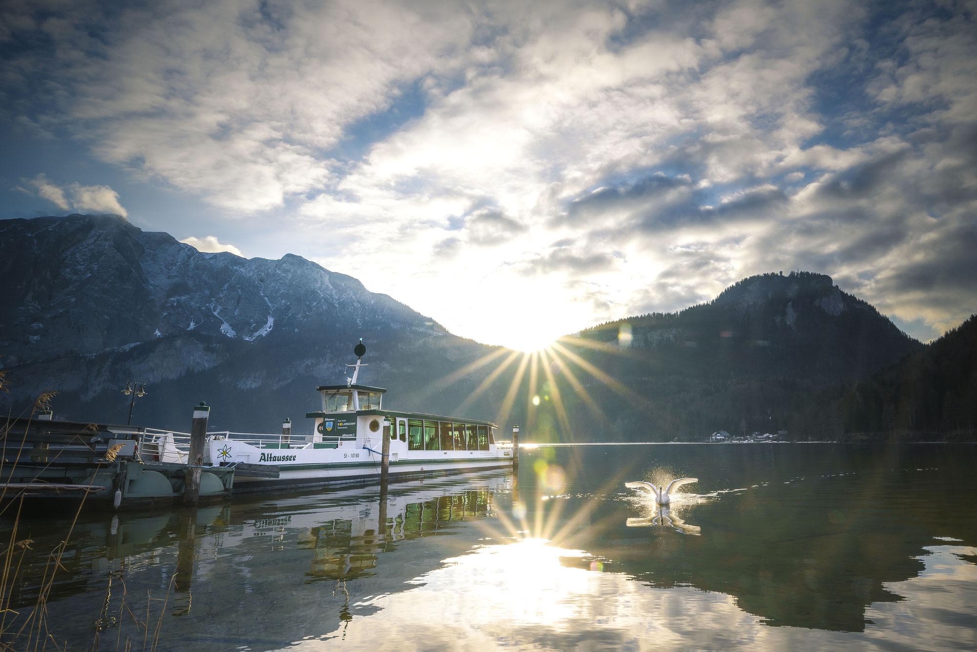Stern Schifffahrt startet am Attersee und Altausseer See in die Saison