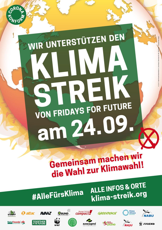Klimastreik vor der Wahl