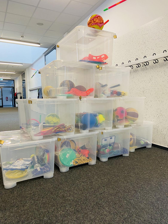 Die aktive Pause an der Gemeinschaftsschule Bredstedt