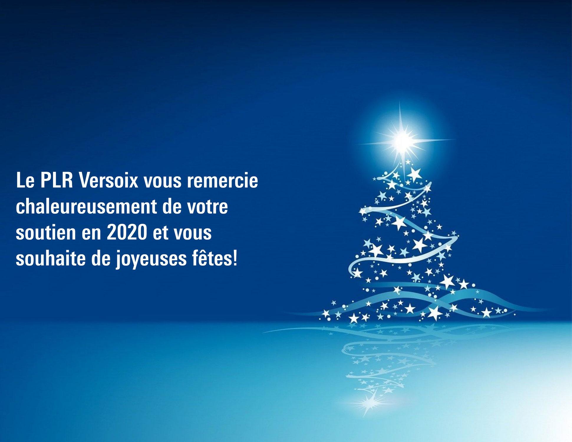 Joyeuses fêtes & bonne année 2021!