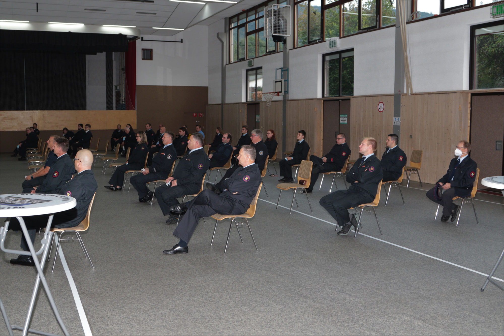 Feuerwehr Eschenburg holt 79 Ehrungen&Beföderungen nach