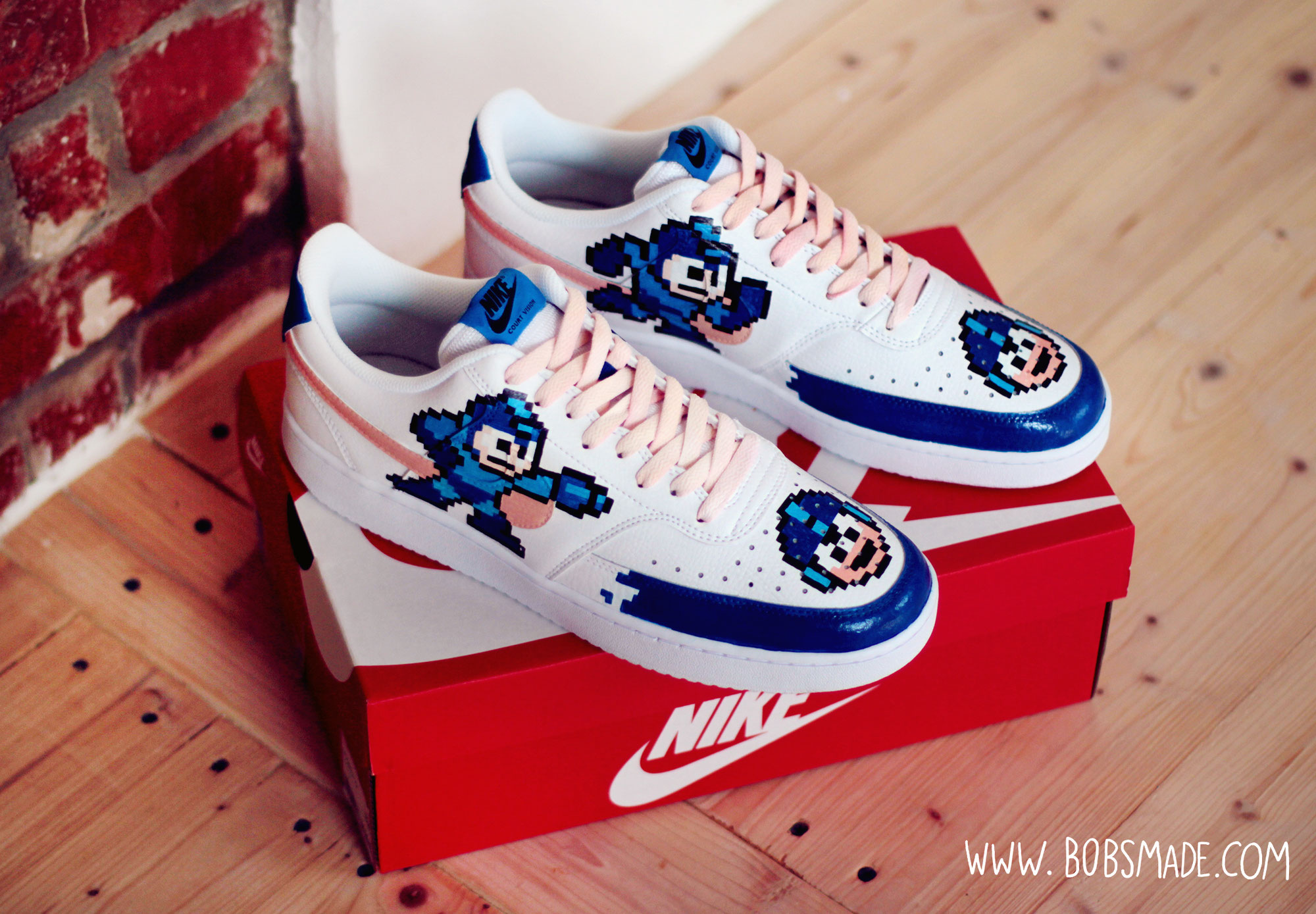 Mega Man Custom                                   Shoes Sneaker