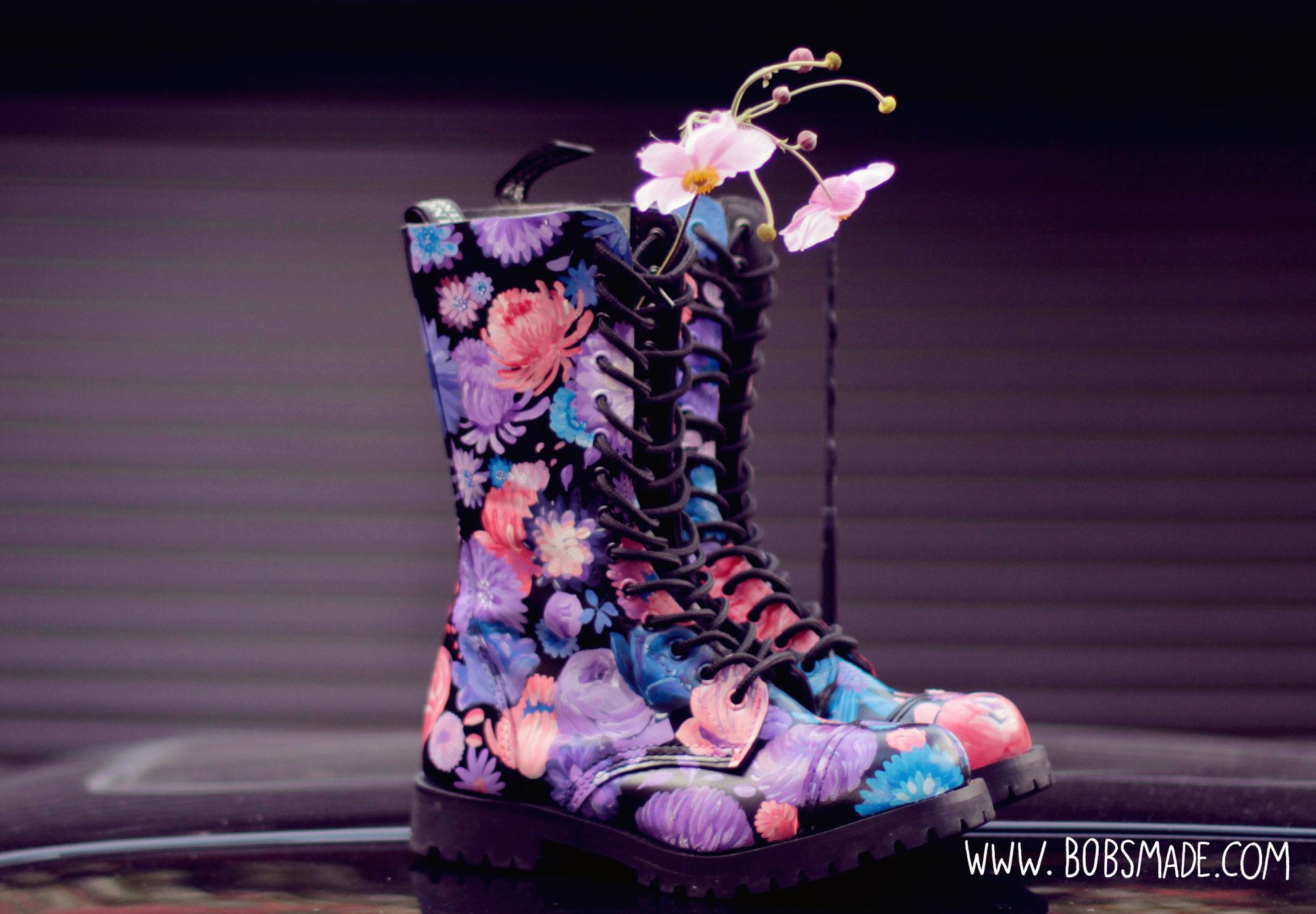 Flower Boots Bondage London