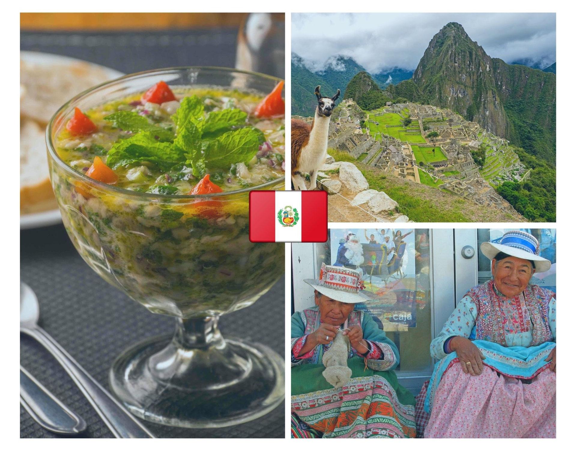 Zoom sur la gastronomie péruvienne