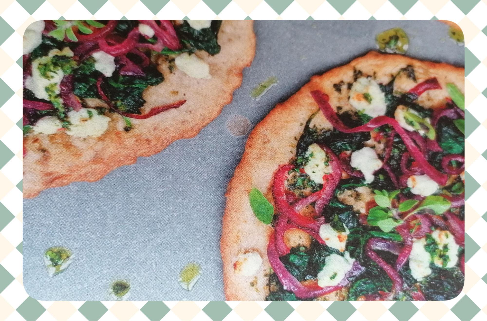 Pizzette mit Haselnüssen