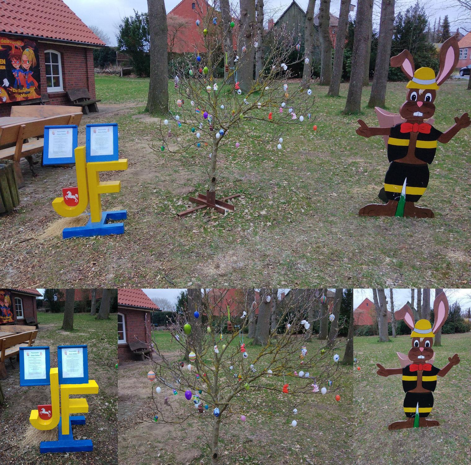 Feuerwehr-Oster-Rallye und Ostereichhof