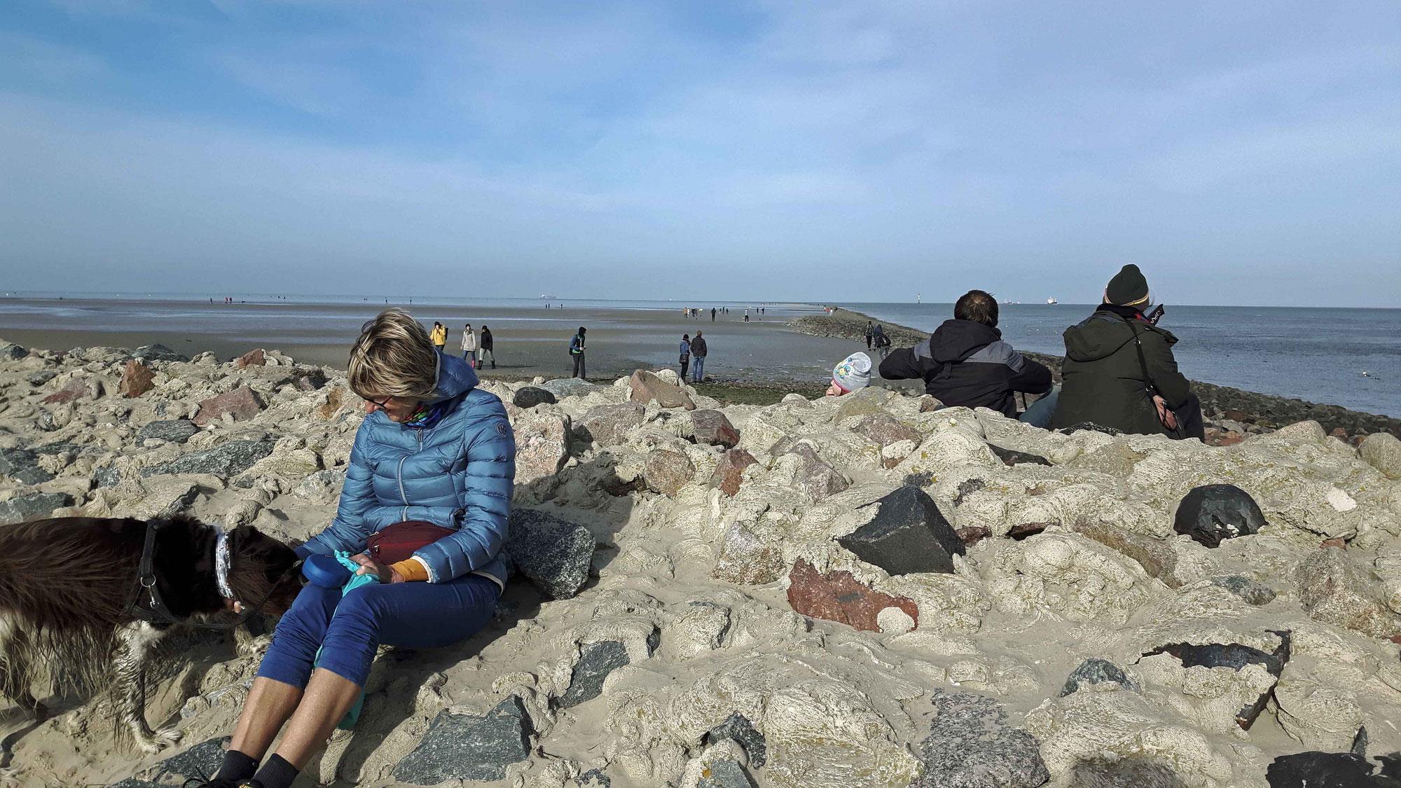 Cuxhaven - Wind und Strand und Meer