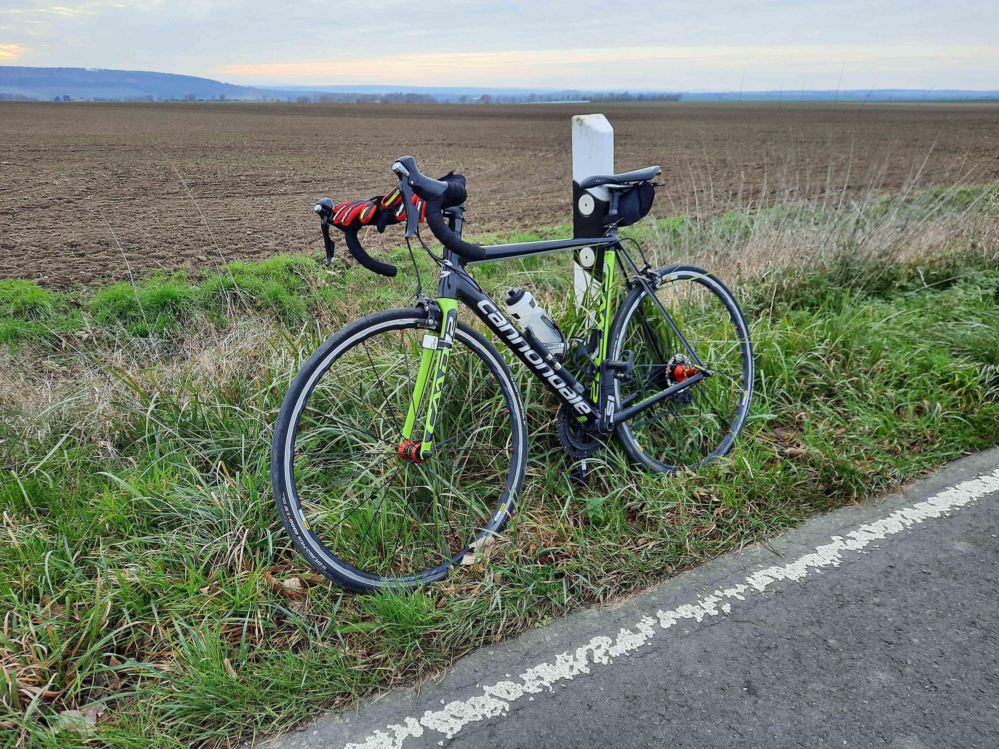 Im Winter raus aufs Rad - und Combi-Training