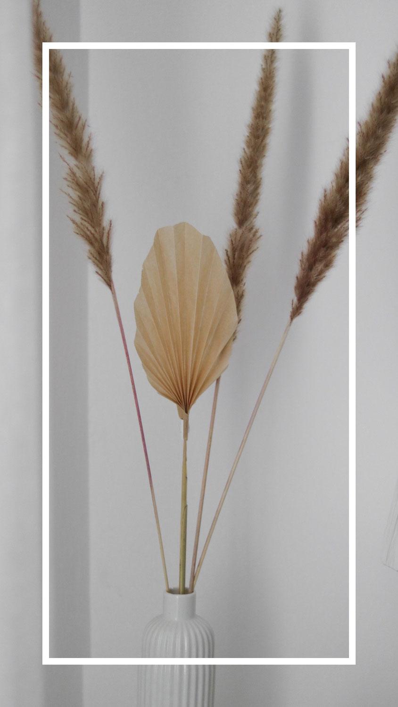 DIY | Palmenblatt für die Vase