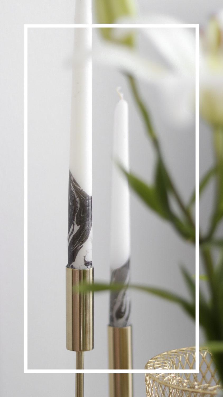 DIY | Marmor Kerzen