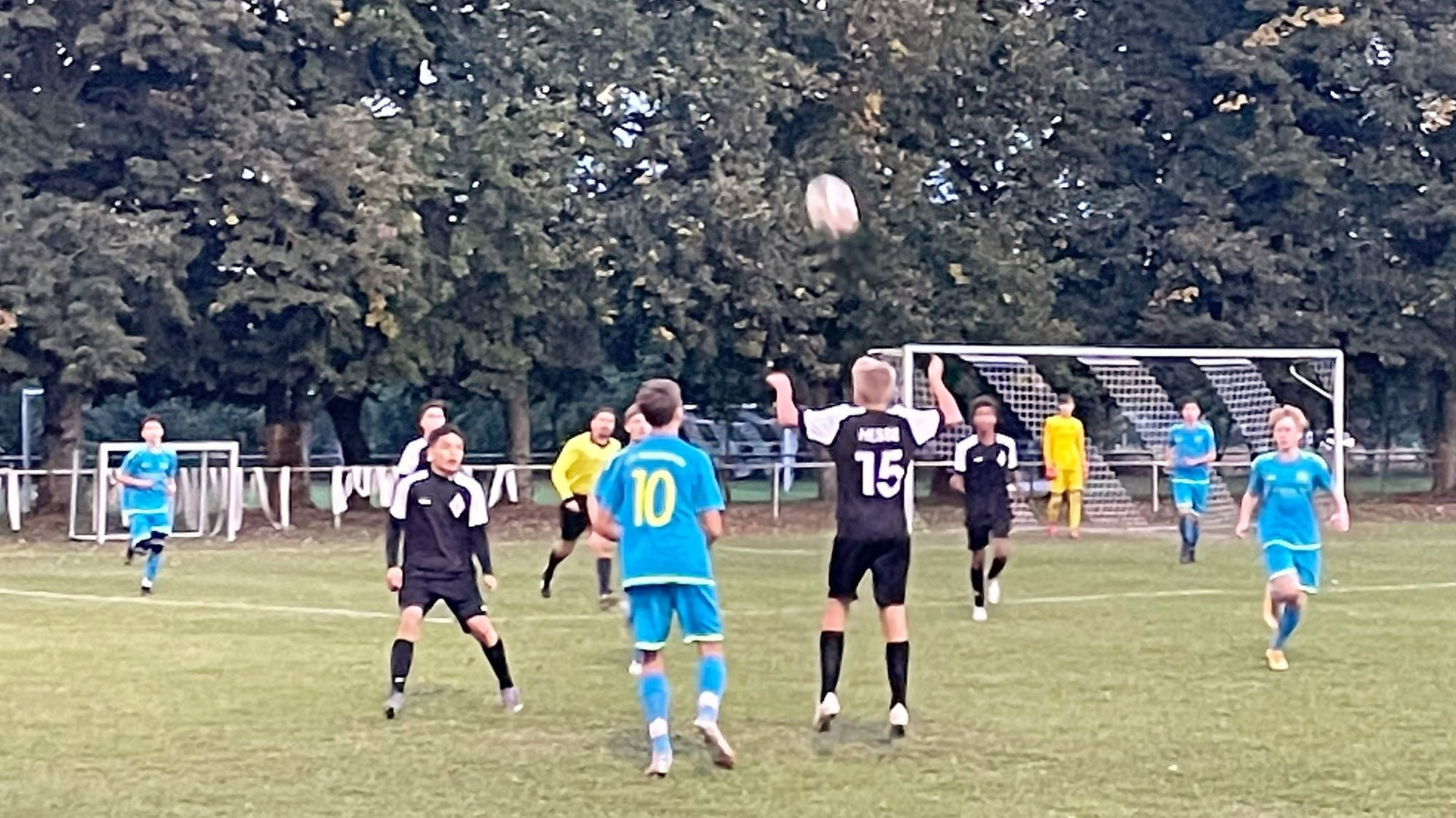 U17 - Sieg in der ersten Pokalrunde