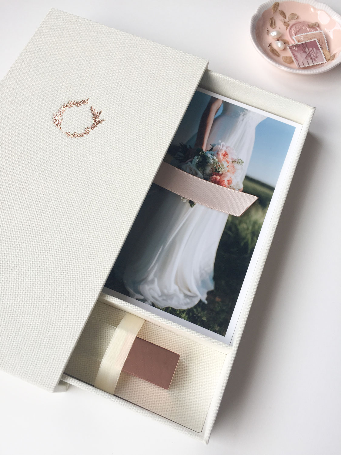 Folio Boxes for Photo & USB for Marleen Serné Photography