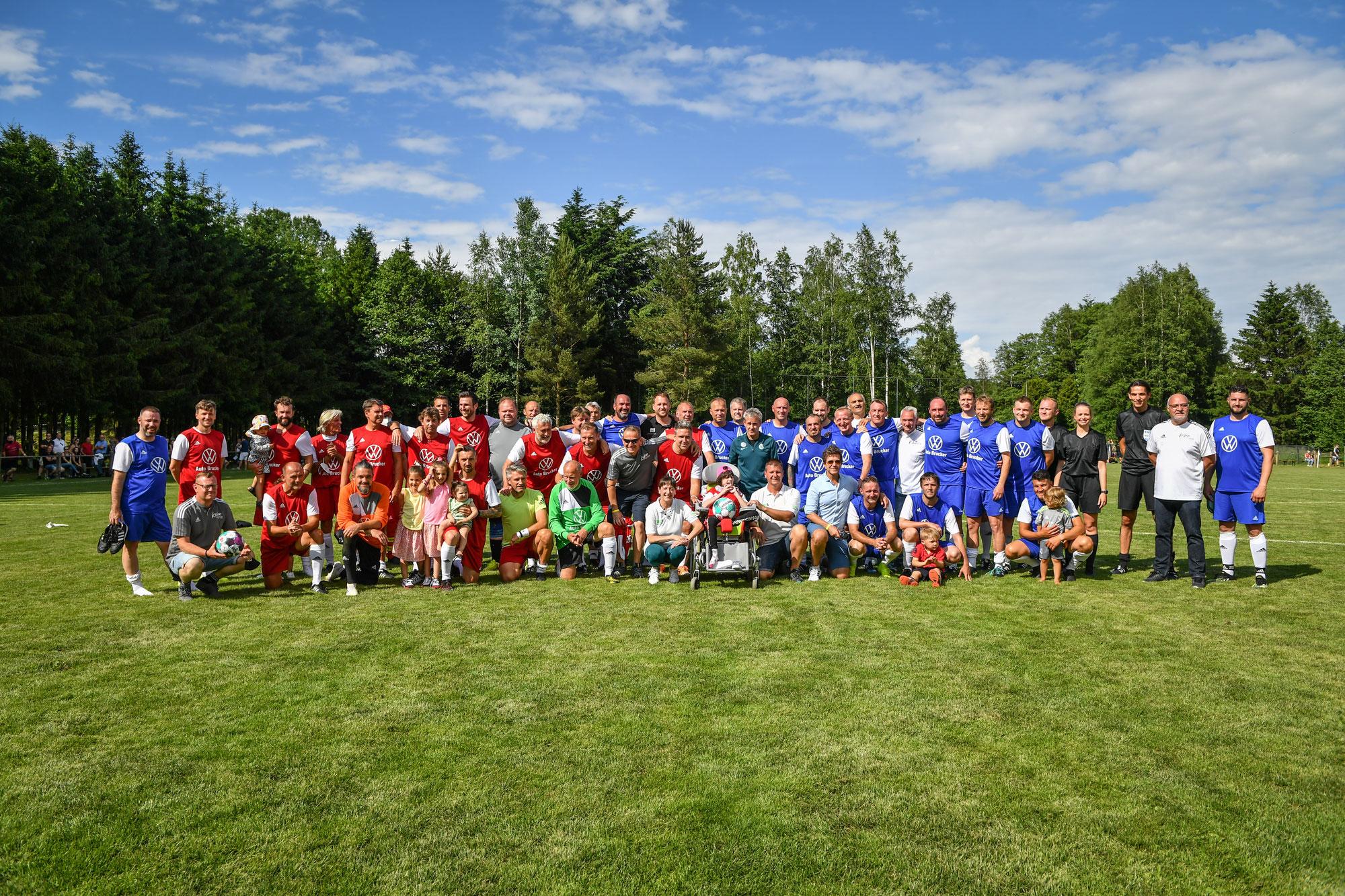 Fußballfest der Superlative