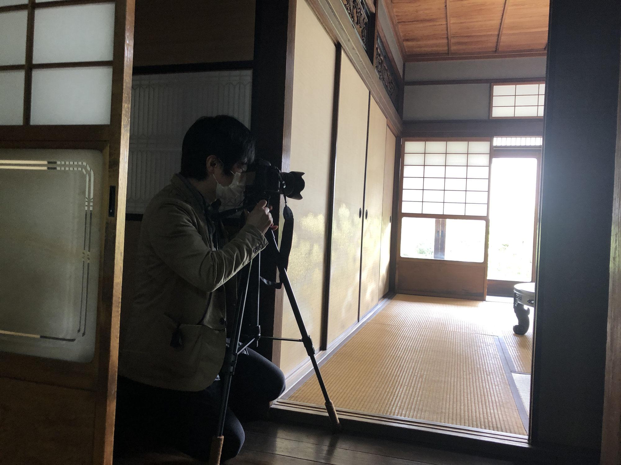 太子橋の古民家【既存写真の撮影】