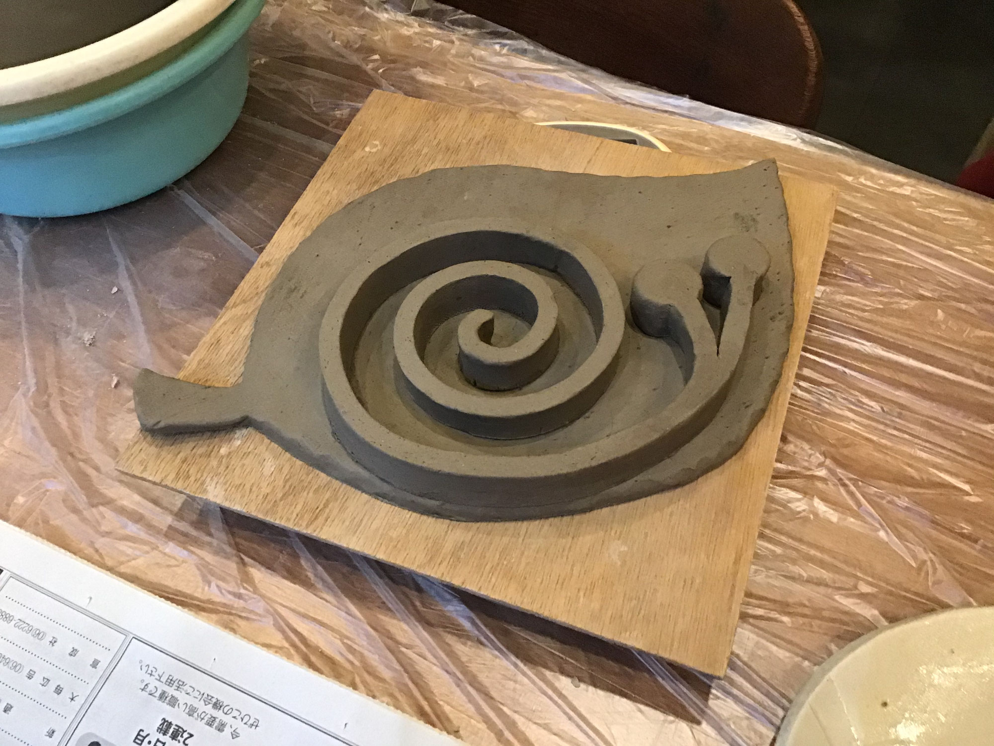 2020年最後の陶芸教室【カフェスペース】
