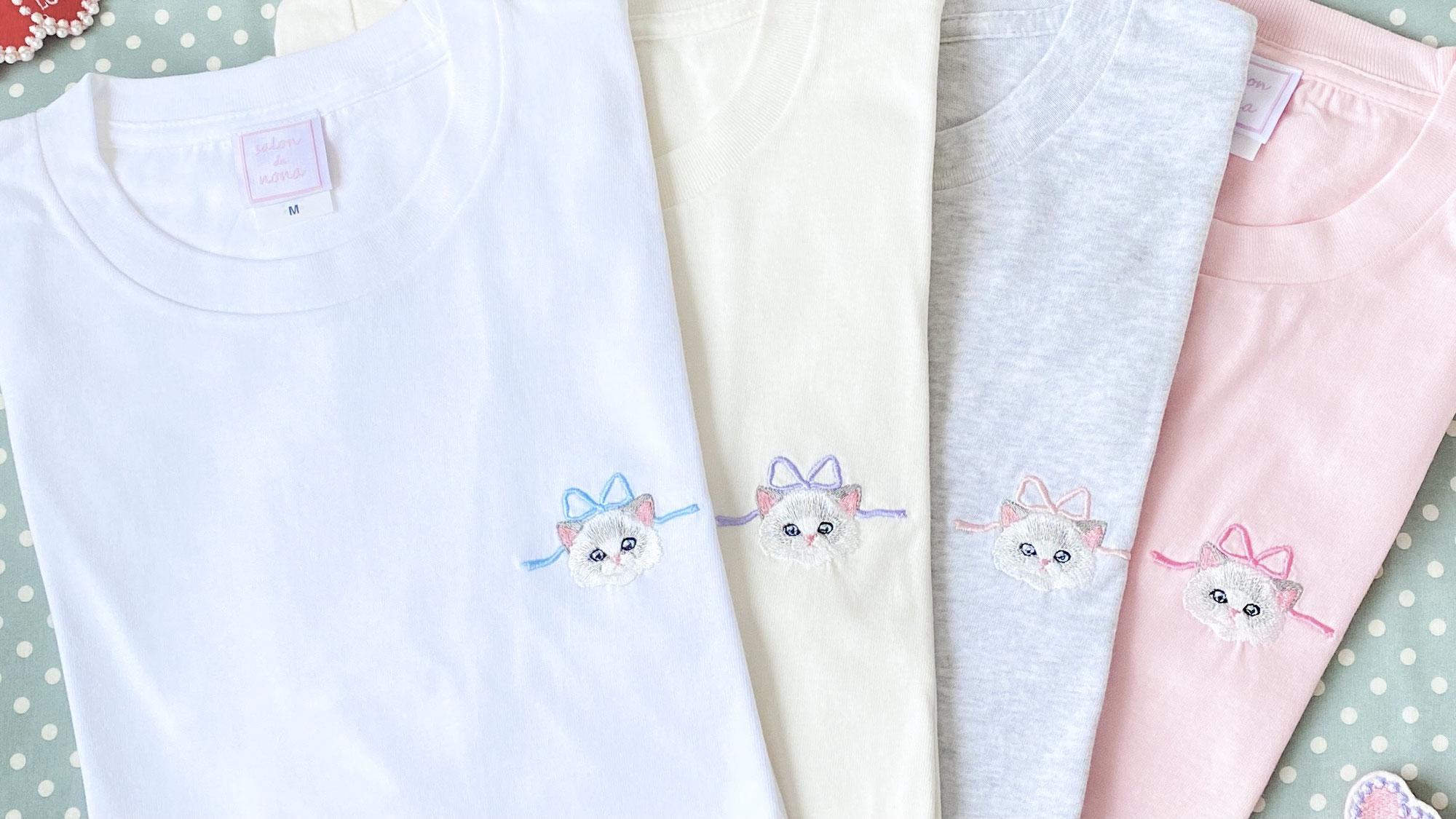きゃっと可愛い『Catron Tシャツ』