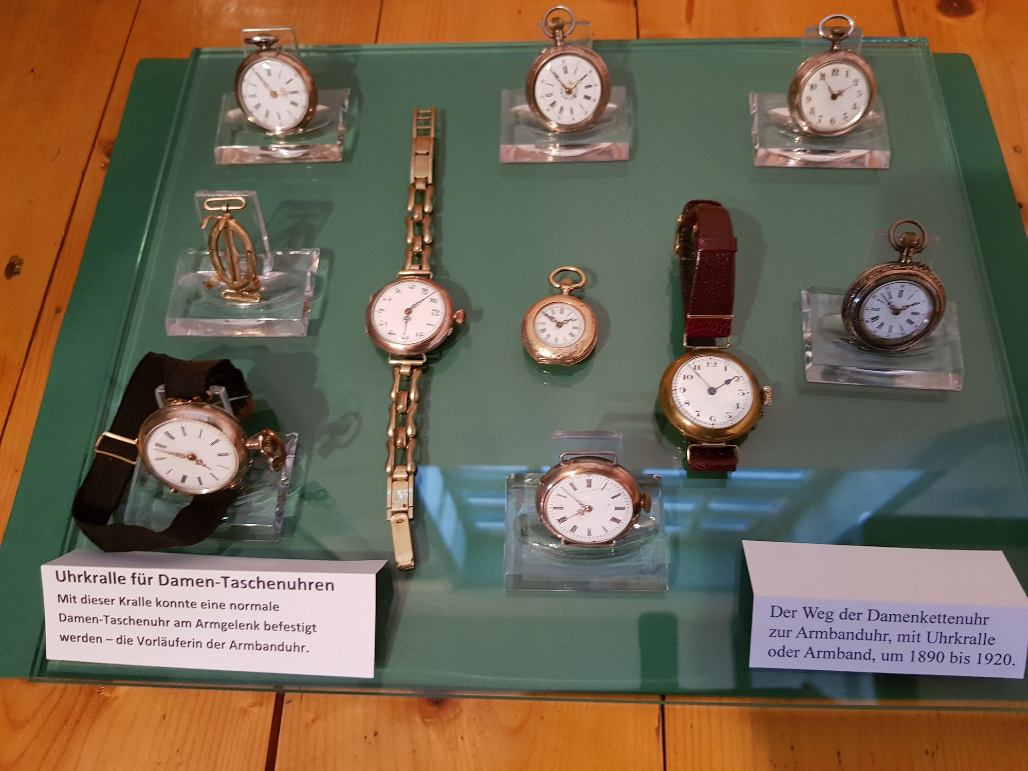 Faszination Uhrenwelt – im Kavalierhaus des Museums