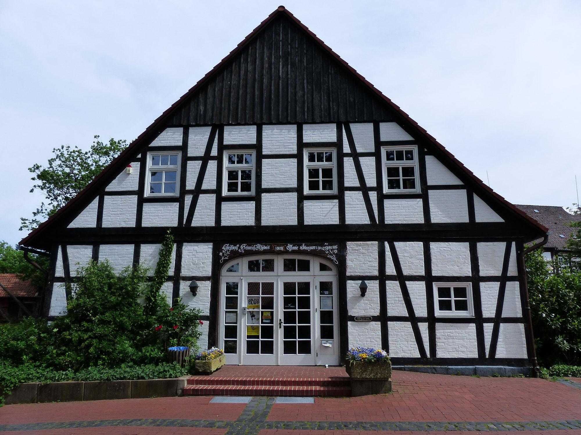 Heimatmuseum öffnet Pfingsten