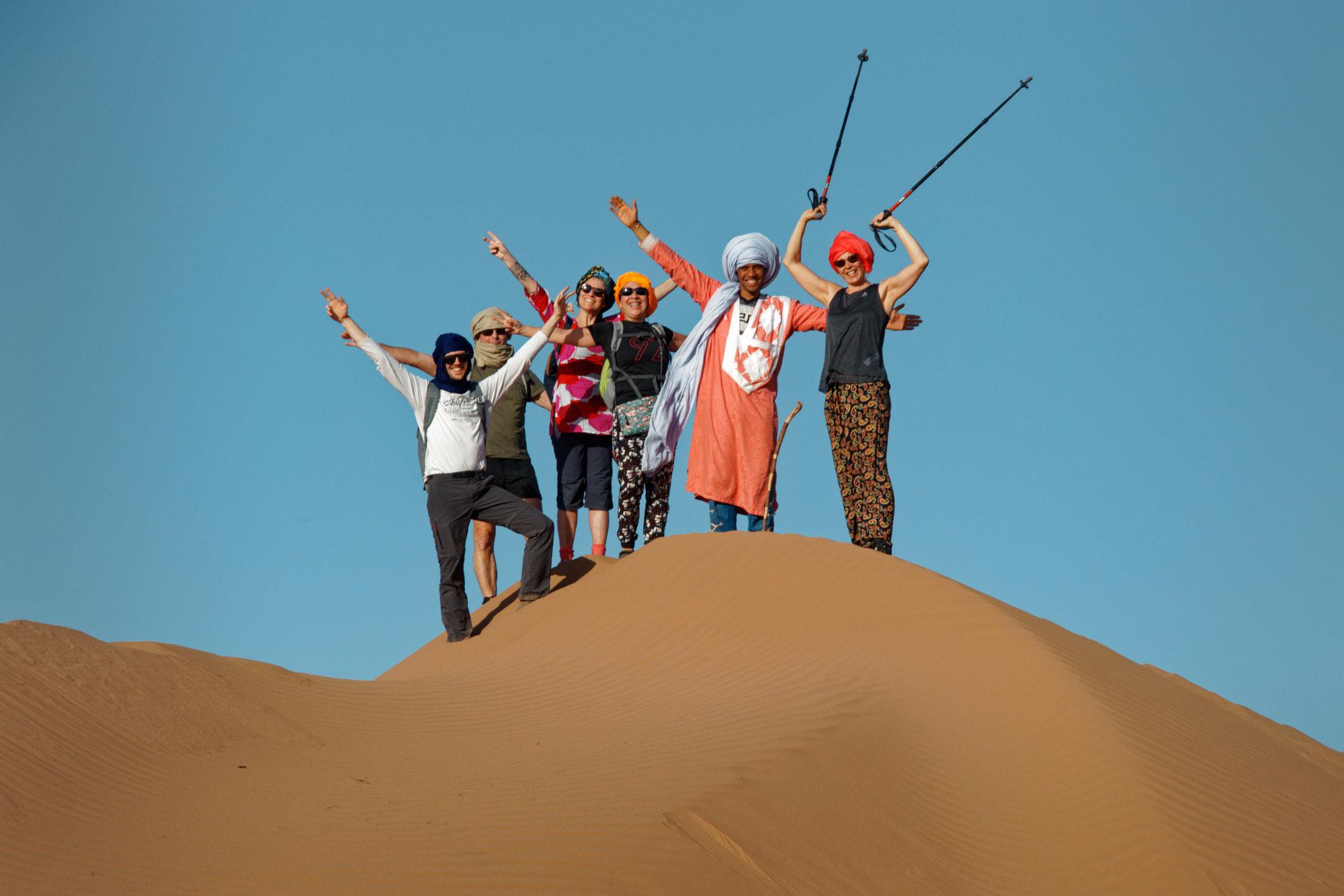 Bien-être Sahara Maroc