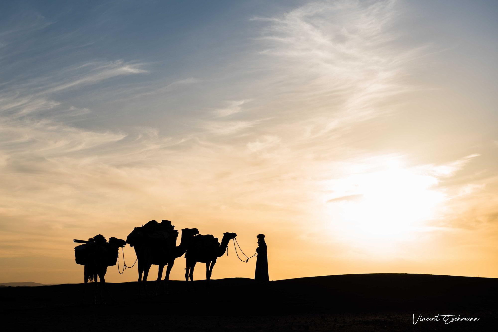 Réveillon dans le désert du Maroc