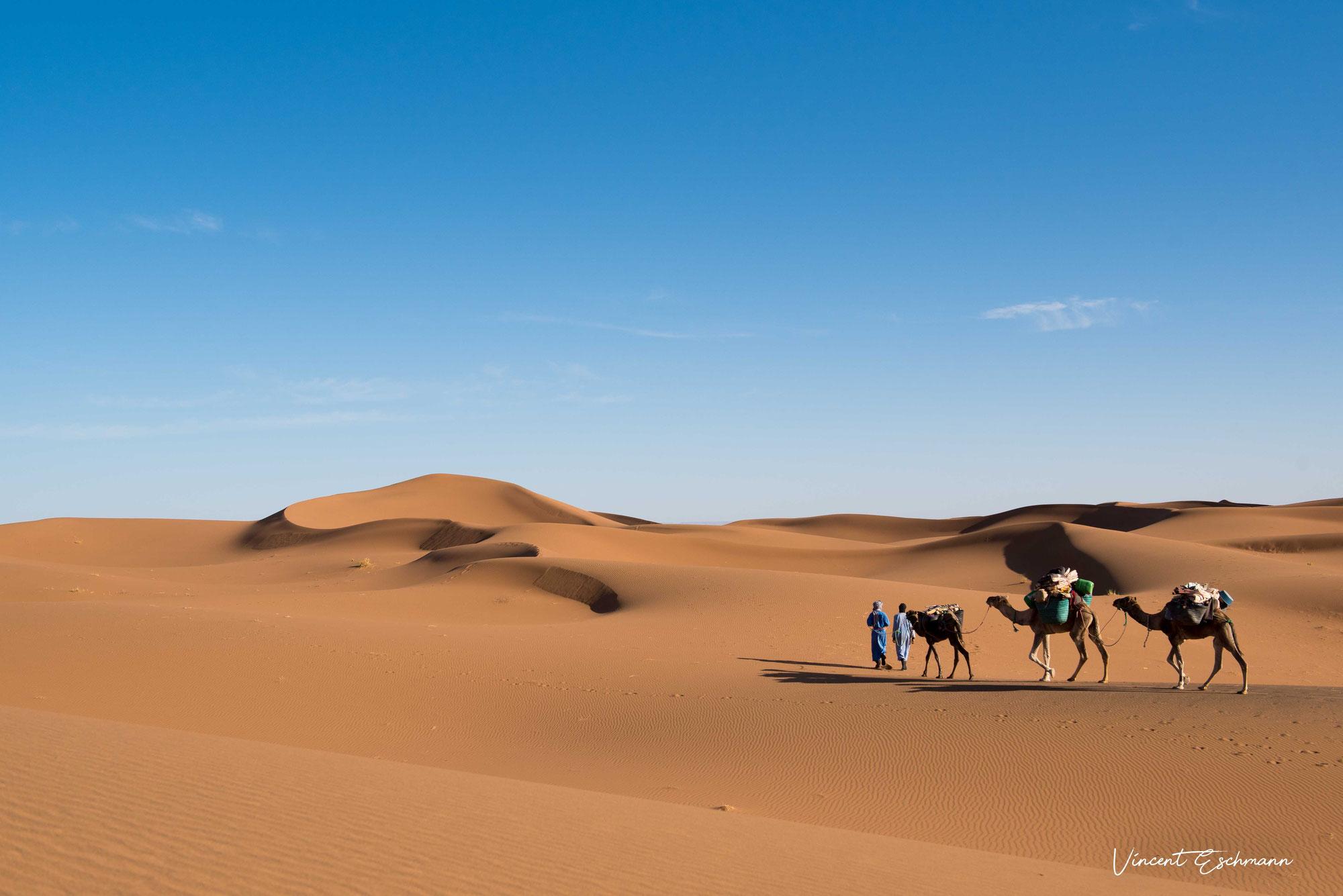 Yoga dans le désert Maroc