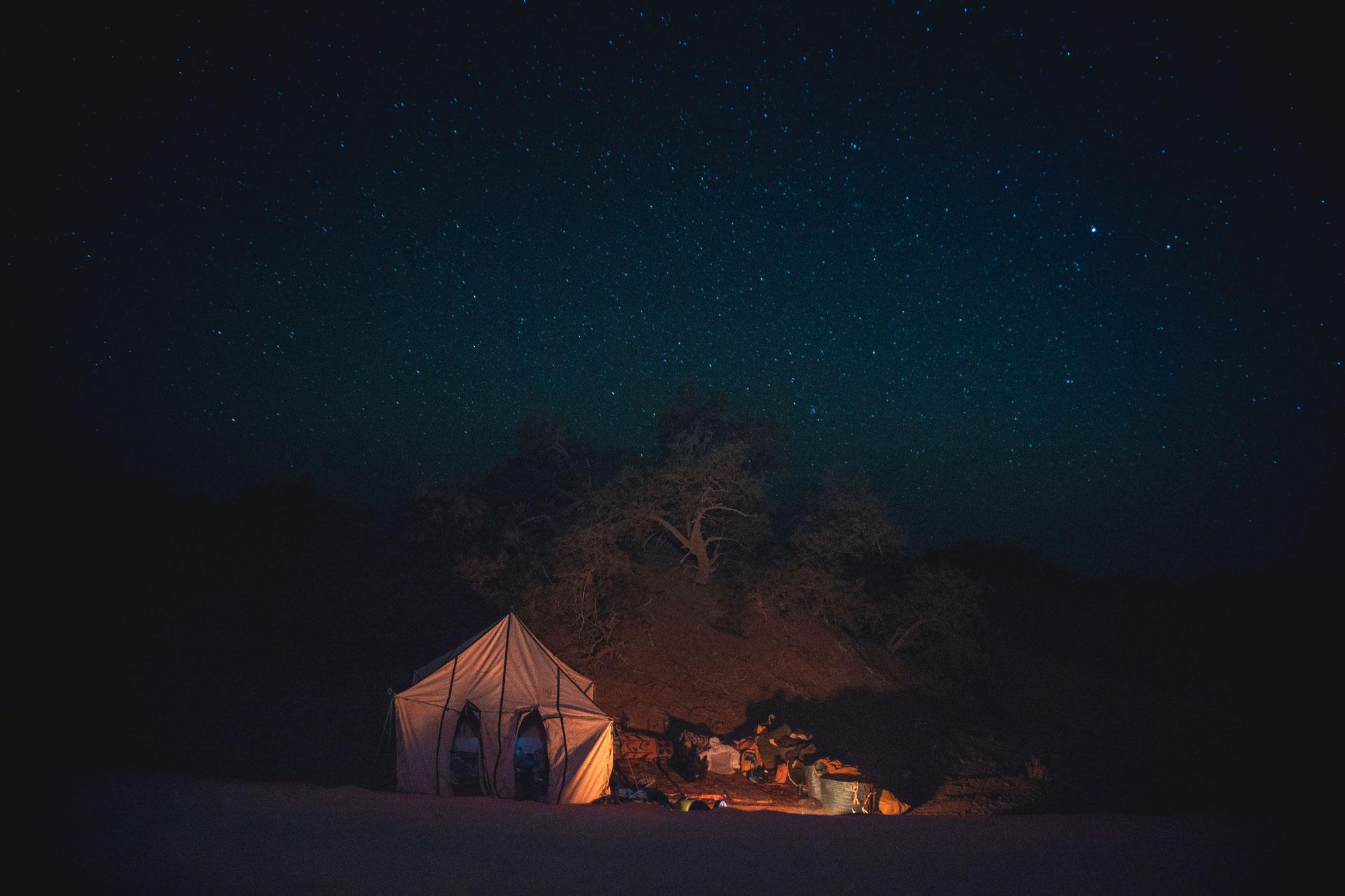 Le ciel du désert Maroc