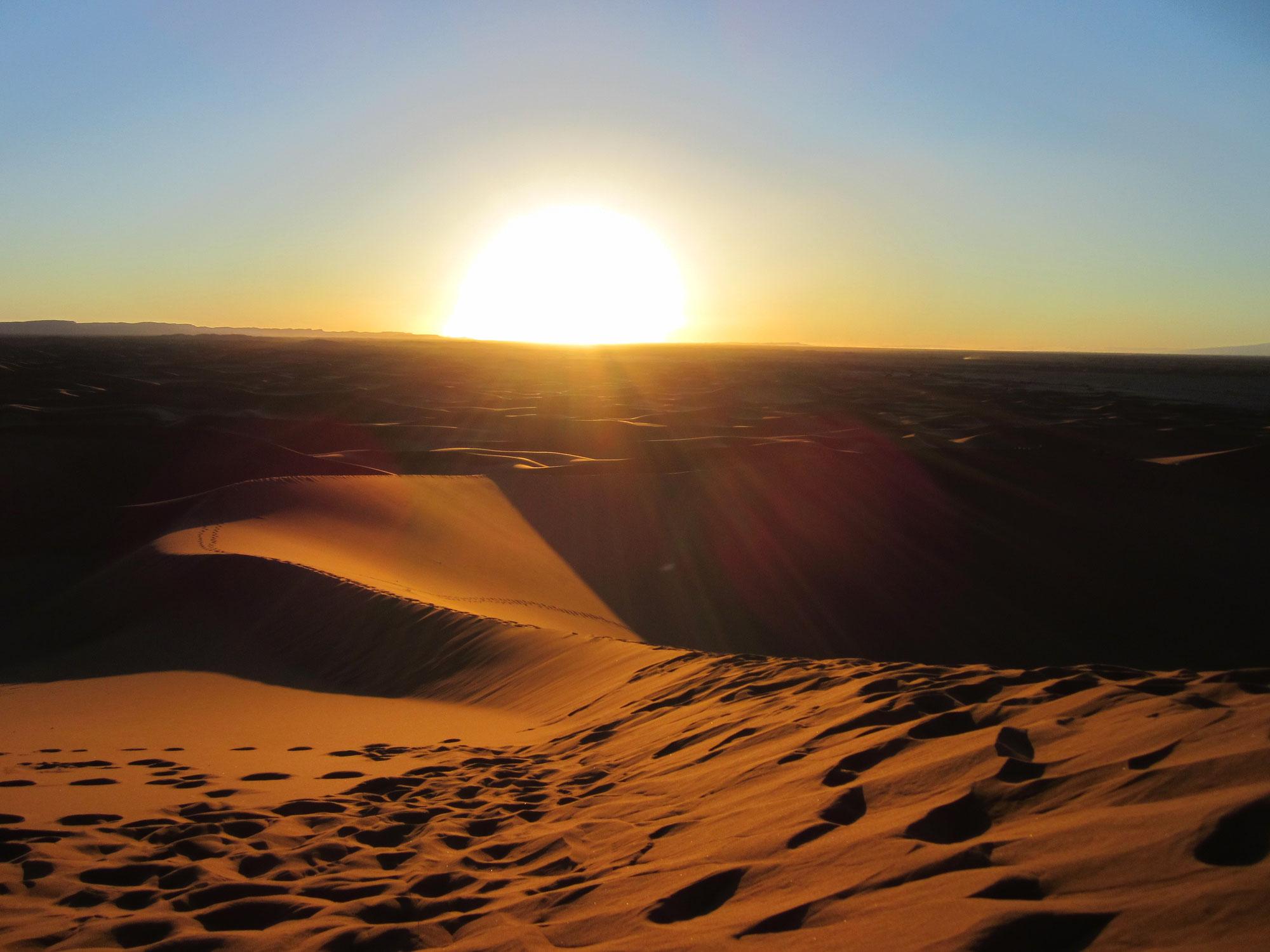 A la rencontre de soi désert