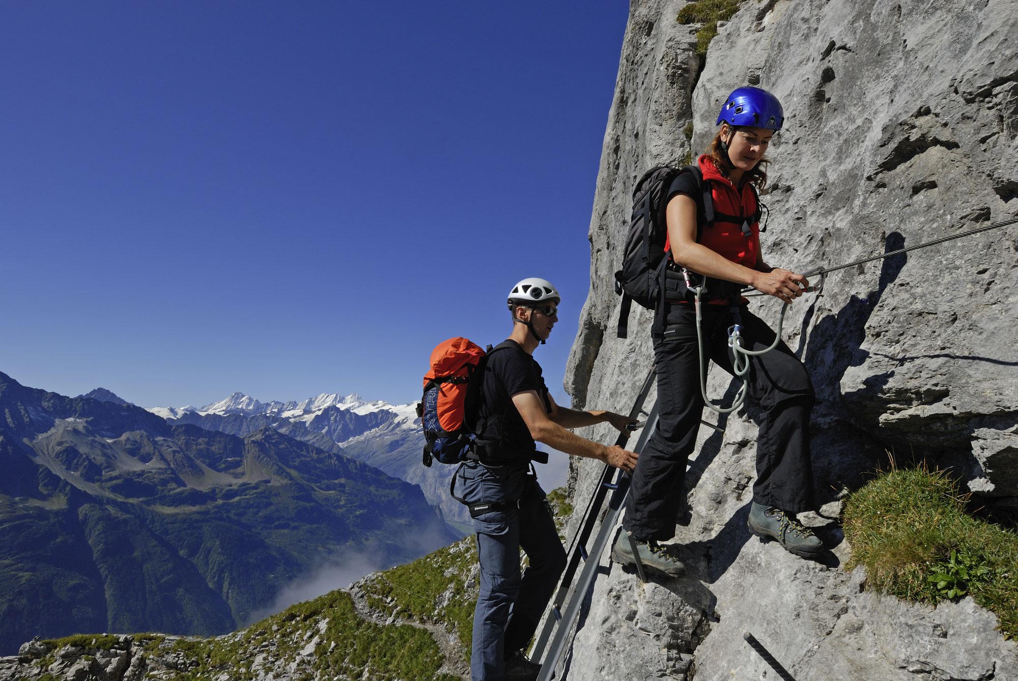 Klettersteig Tälli : Der erste touristische klettersteig neuzeit in schweiz und