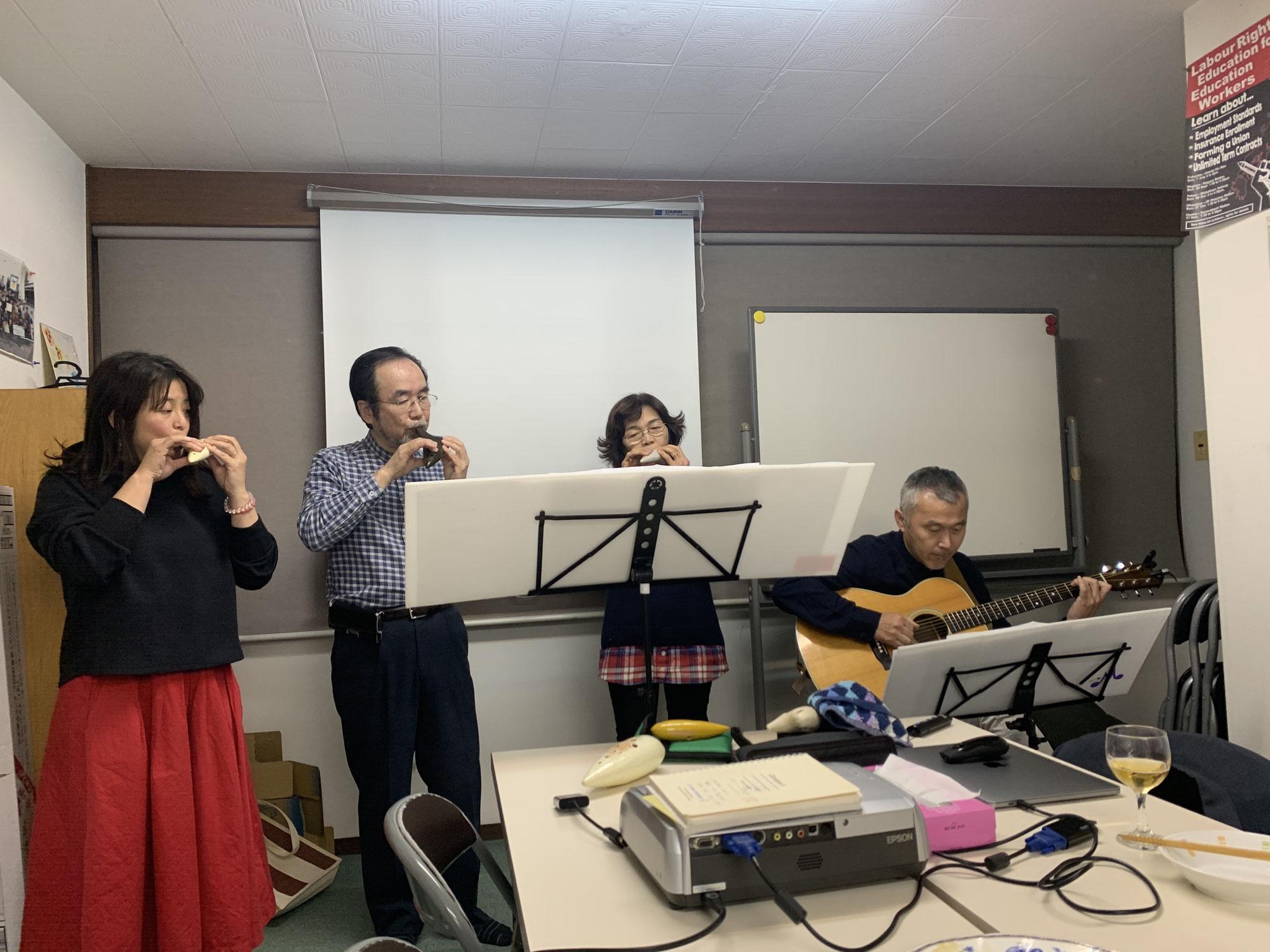 福岡NPO共同事務所「びおとーぷ」@チャリティ新年会