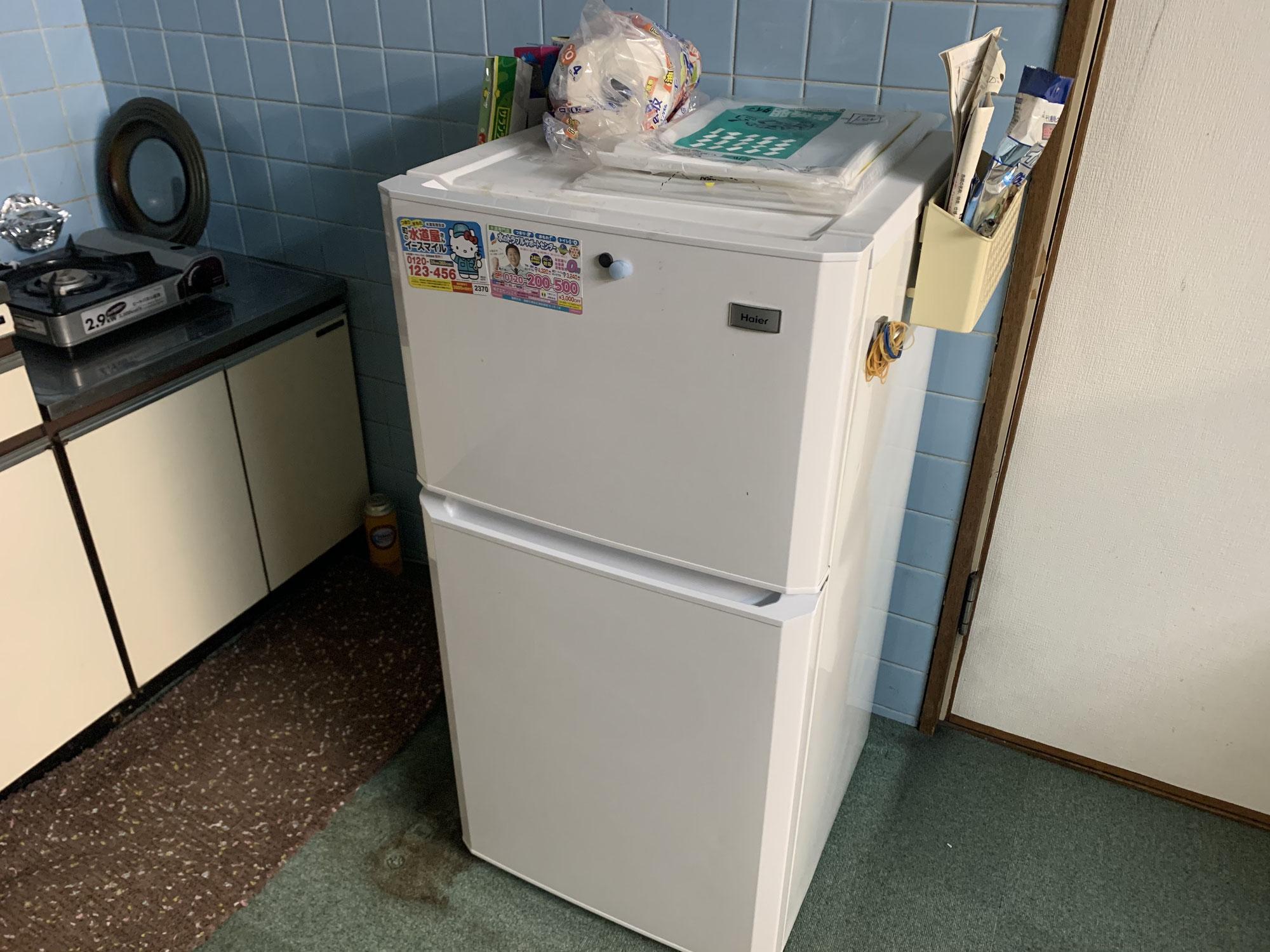 【びおとーぷの運営資金を助けてもらうプロジェクト】冷蔵庫を入れ替えました!