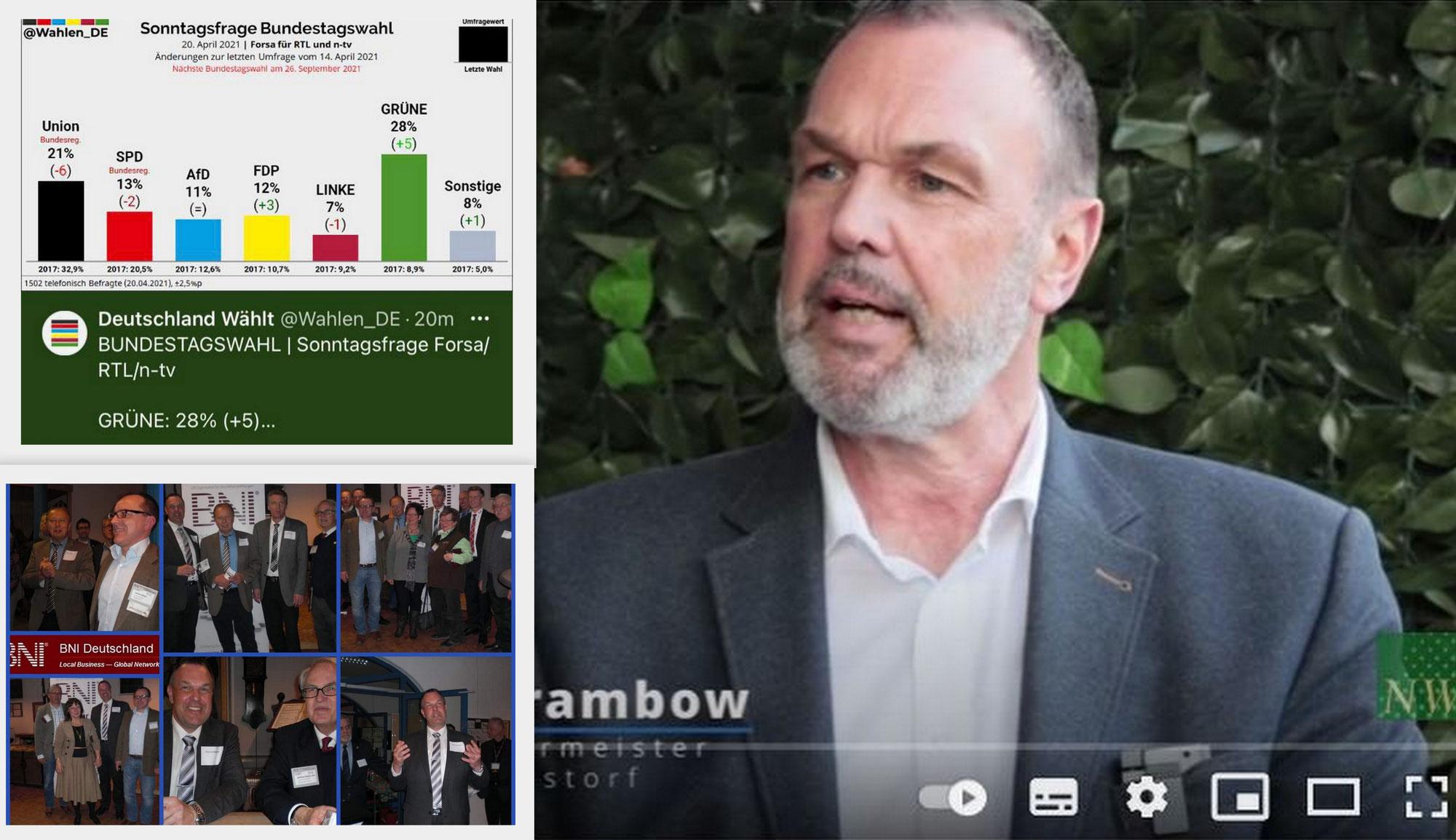 """Die bundespolitische Stimmungslage, """"Neu Wulmstorf im Blickpunkt"""" mit Thomas Grambow und ein Rückblick ins Jahr 2013!"""