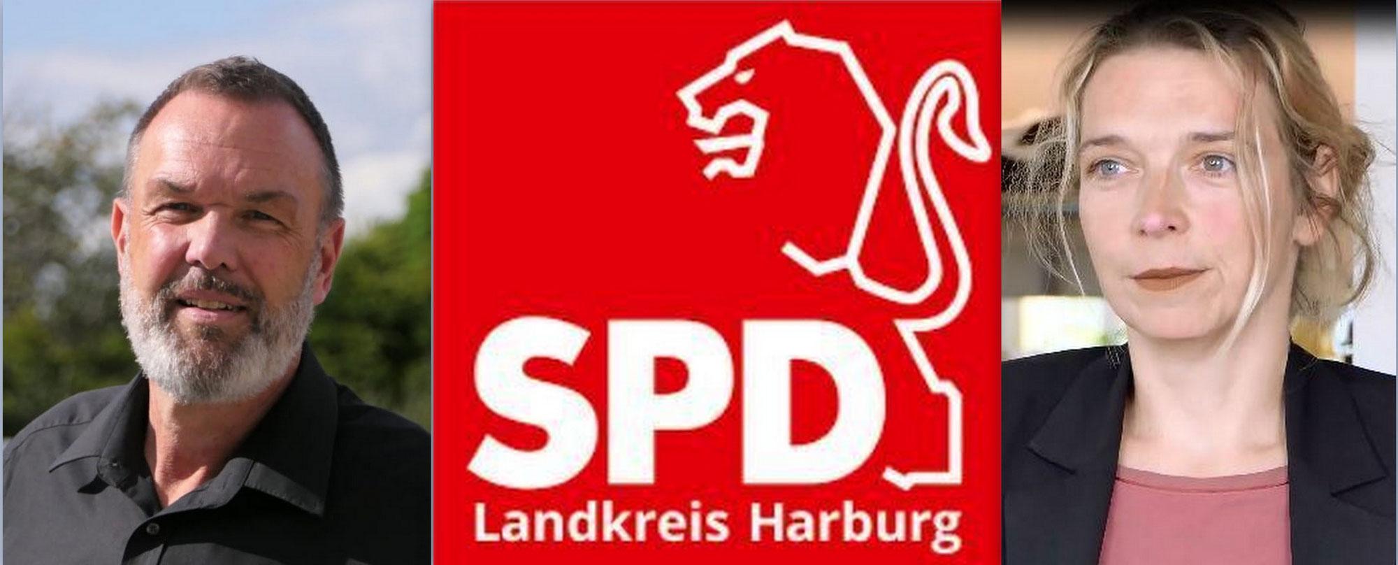Positionswechsel beim SPD Unterbezirk LK Harburg: Svenja Stadler, MdB, übernimmt den Vorsitz, Thomas Grambow die Stellvertretung!