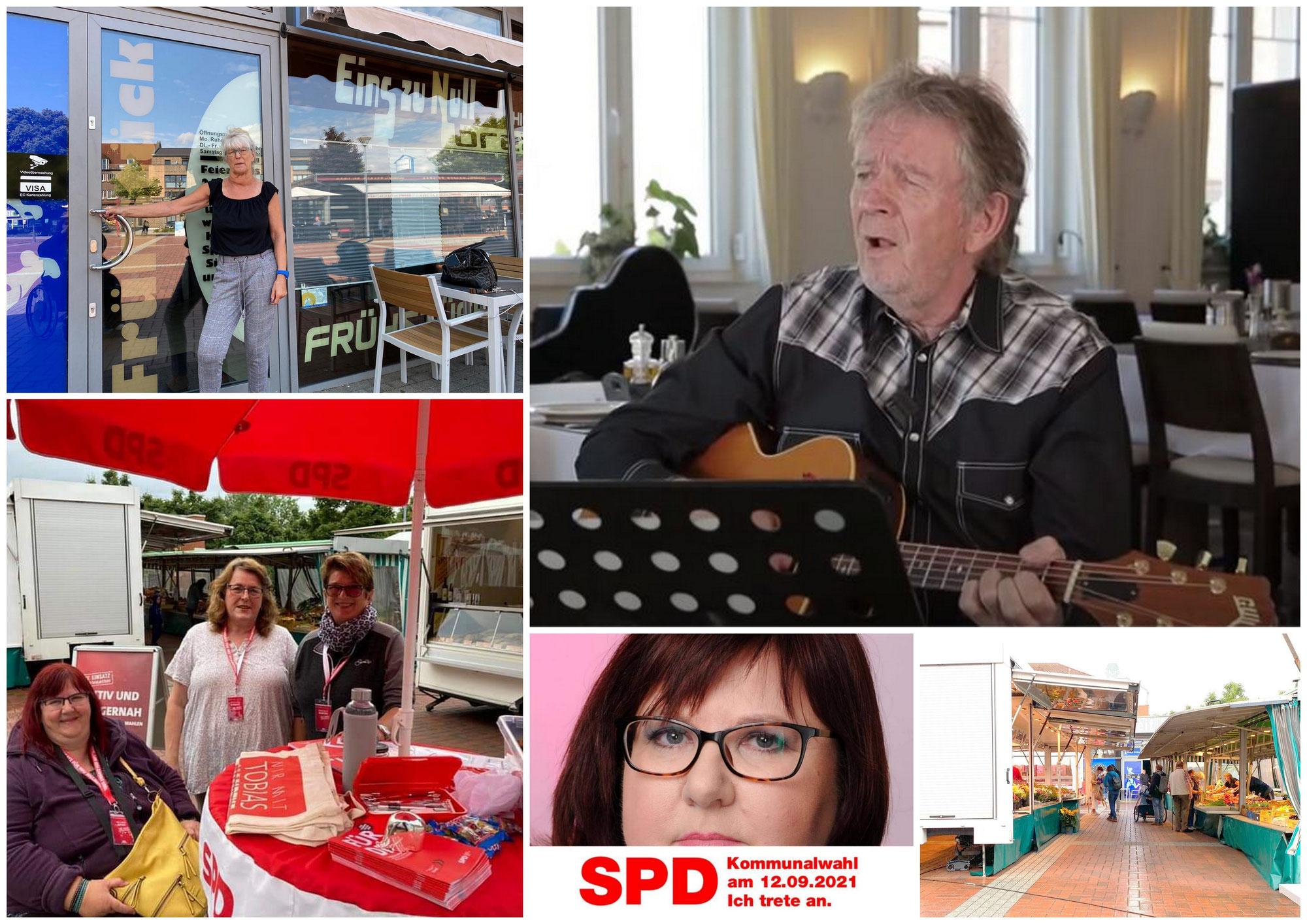 Ein musikalischer Gruß von Folksänger Marcel Schaar, News vom Neu Wulmstorfer Marktplatz und zur hiesigen SPD - Bürgermeister- und Gemeinderats-Wahlkampagne!