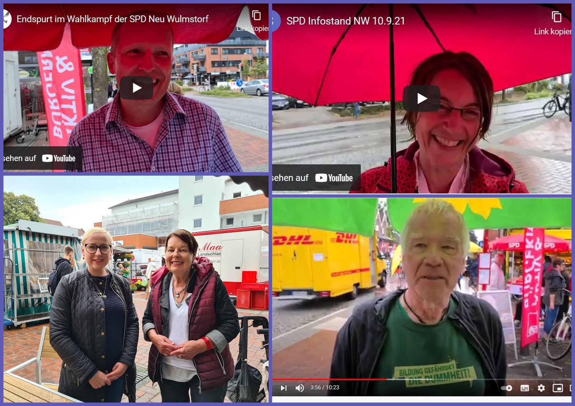 Wahlkampf-Endspurt in Neu Wulmstorf - noch 2 Tage bis zur Entscheidung! Jetzt heißt es Daumen drücken, warten und hoffen ...!