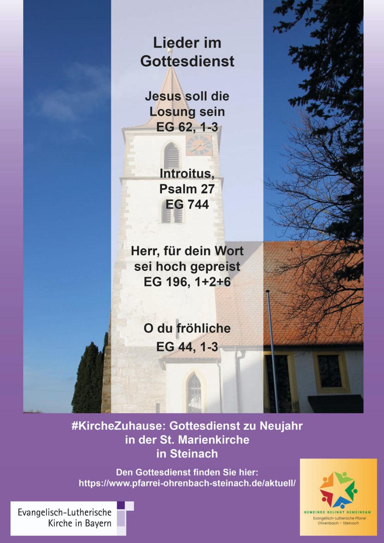 #KircheZuhause - Video Neujahrsgottesdienst in Steinach / Ens