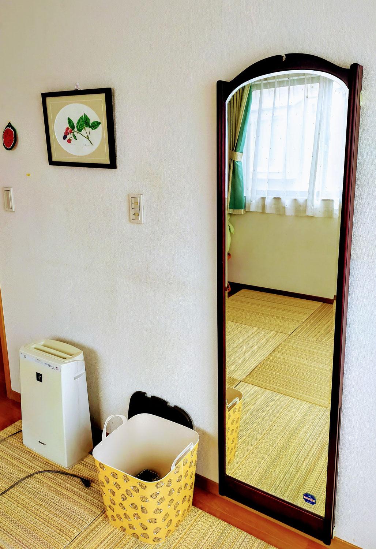 治療室に鏡