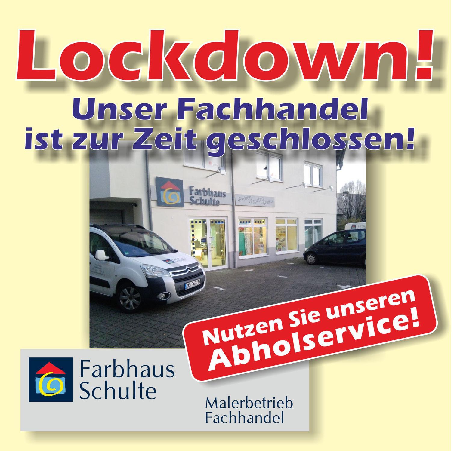 Weiterhin Lockdown im Einzelhandel!
