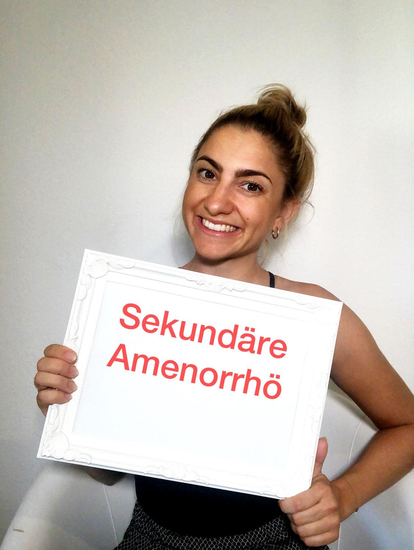 Sekundäre Amenorrhoe