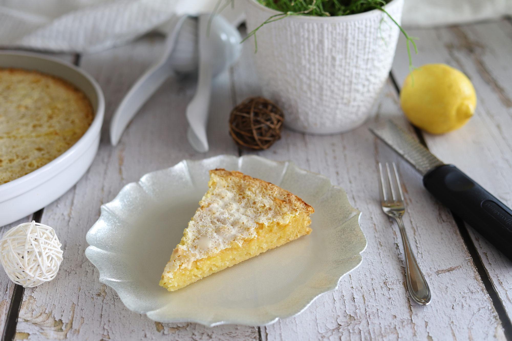 Zitronentarte aus der runden Ofenhexe von Pampered Chef®
