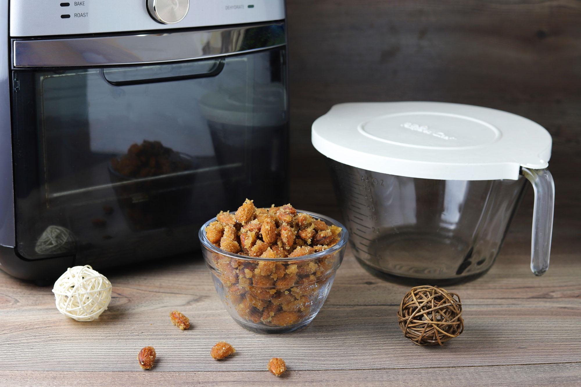 Gebrannte Mandeln im Deluxe Air Fryer von Pampered Chef®