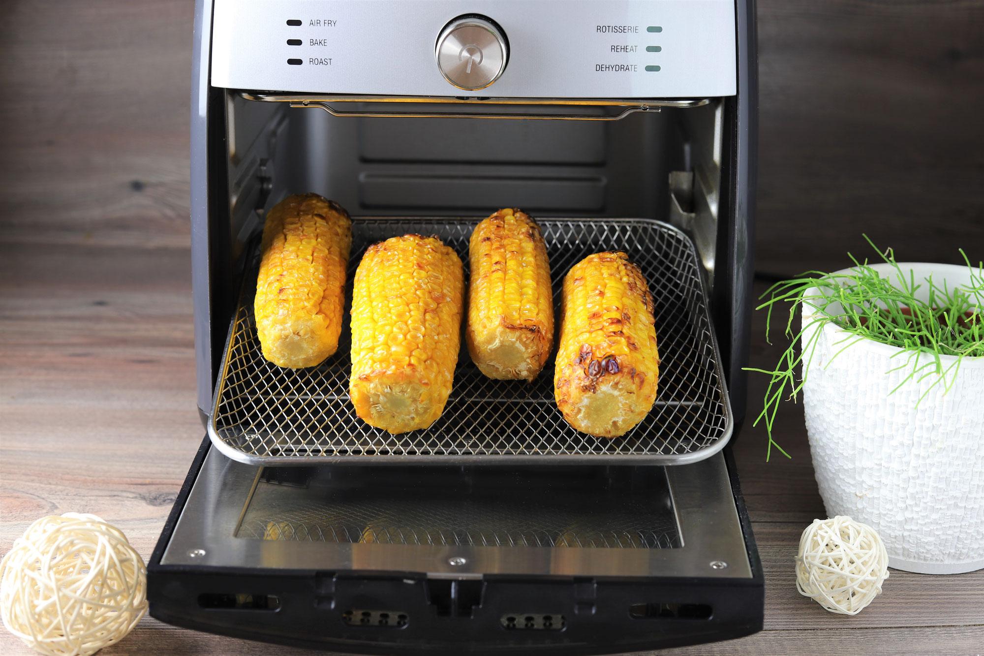 Maiskolben im Deluxe Air Fryer von Pampered Chef®