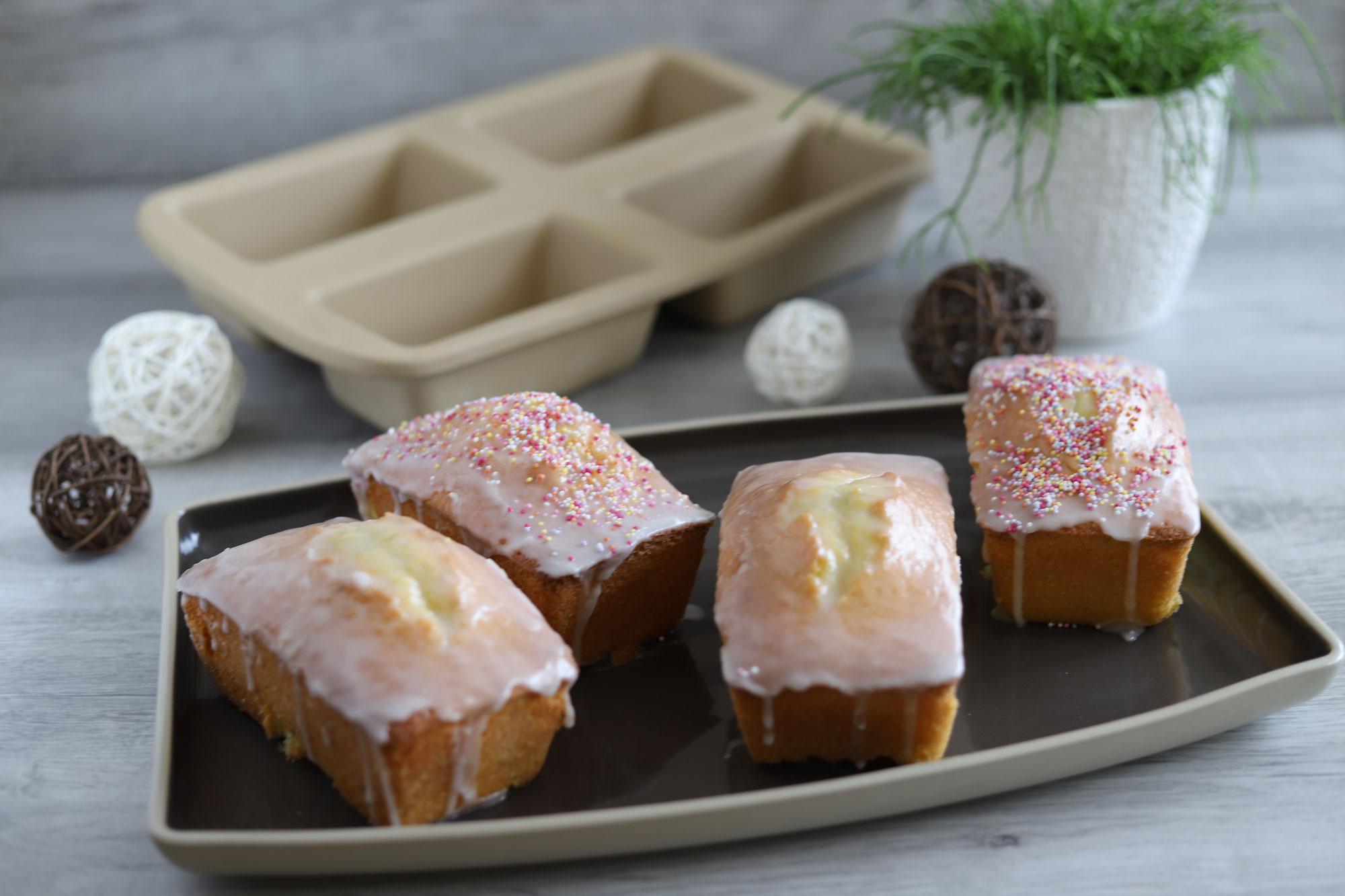 Mini-Limettenkuchen aus der Mini-Kastenform von Pampered Chef®