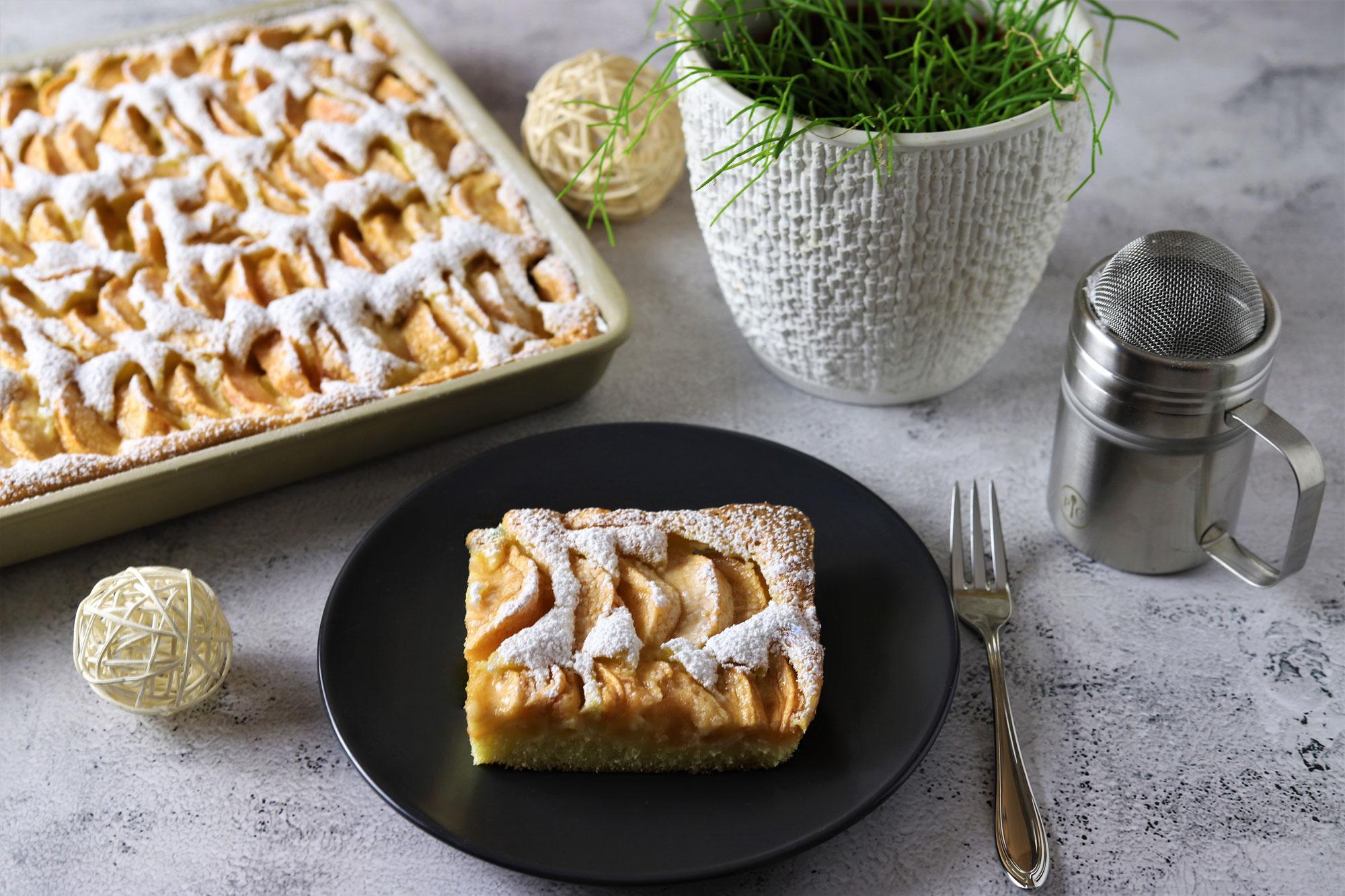Apfelkuchen ratzfatz im Ofenzauberer von Pampered Chef®