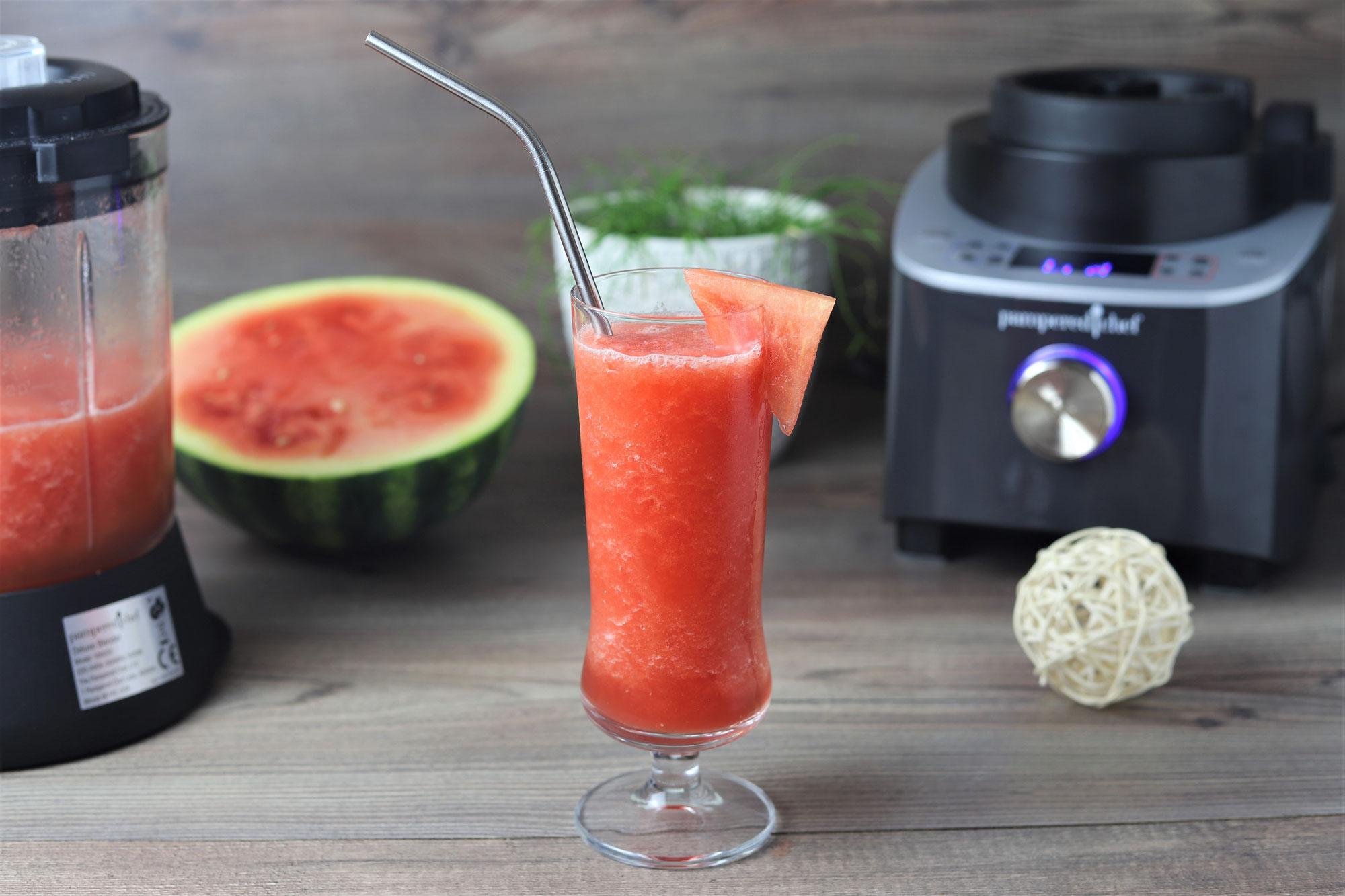 Melonen-Slush im Deluxe Blender von Pampered Chef®
